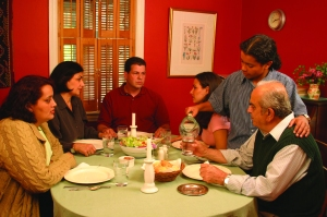 Thanksgiving Dinner with Family