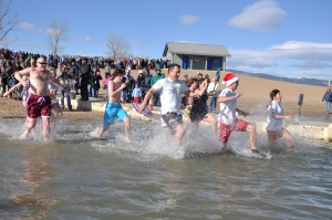 Polar Plungers Freeze the day