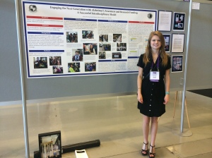 Anna at the Alzheimer's Association International Conference.