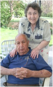 My grandfather and Grandmother a few years prior to my grandfather passing away.
