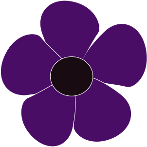 purple-flower-5-petal-online