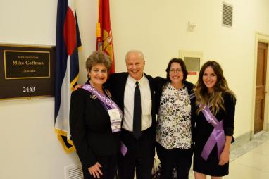 Advocates with Rep. Mike Coffman.
