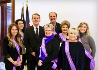 Advocates with Senator Michael Bennet.