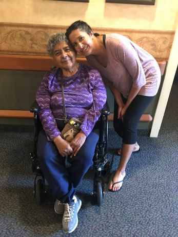 Cindee Gierhart & mom in Greeley 7-2017