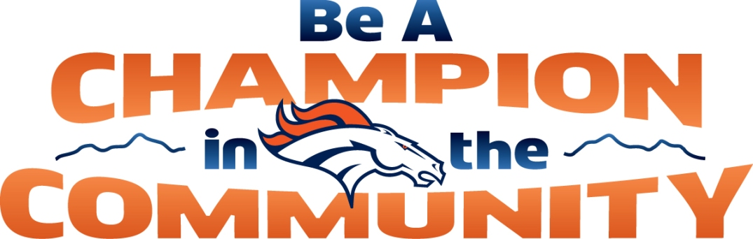 Be A Champion in the Community Logo